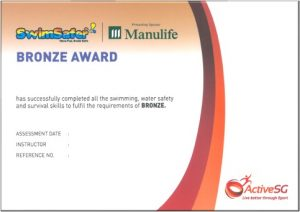 Swimsafer Bronze Cert