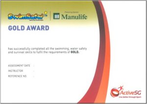 Swimsafer Gold Cert