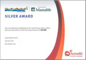 Swimsafer Silver Cert