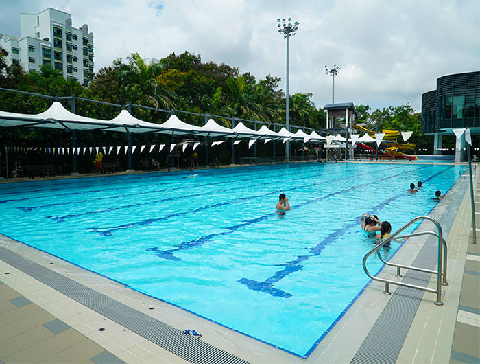 Swimming Lessons At Pasir Ris
