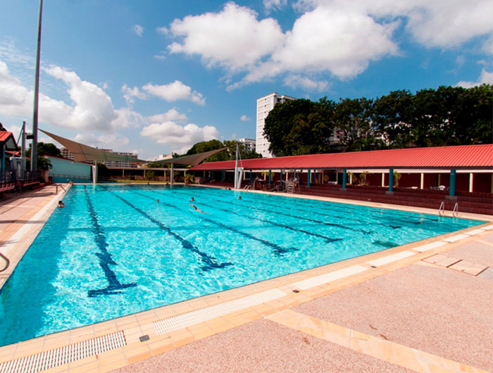Swimming Lessons At Woodlands