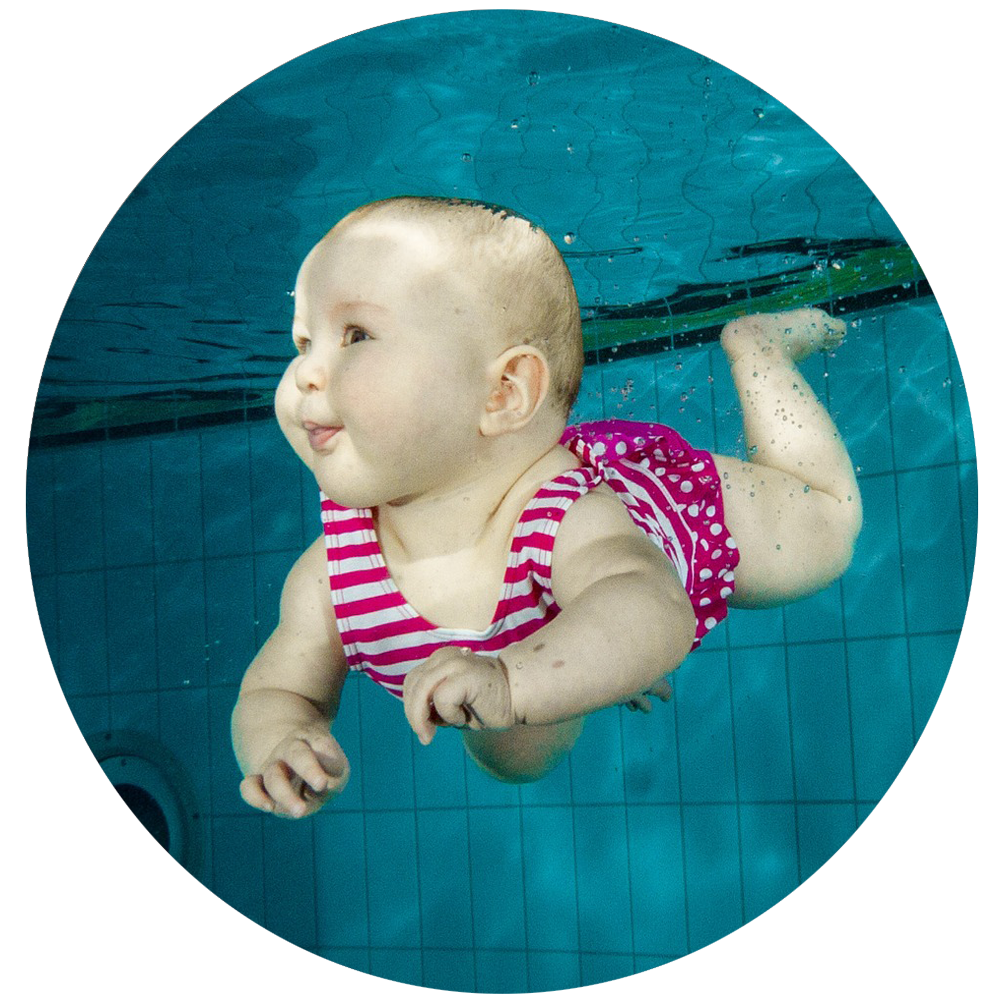 Baby Swimming Lesson